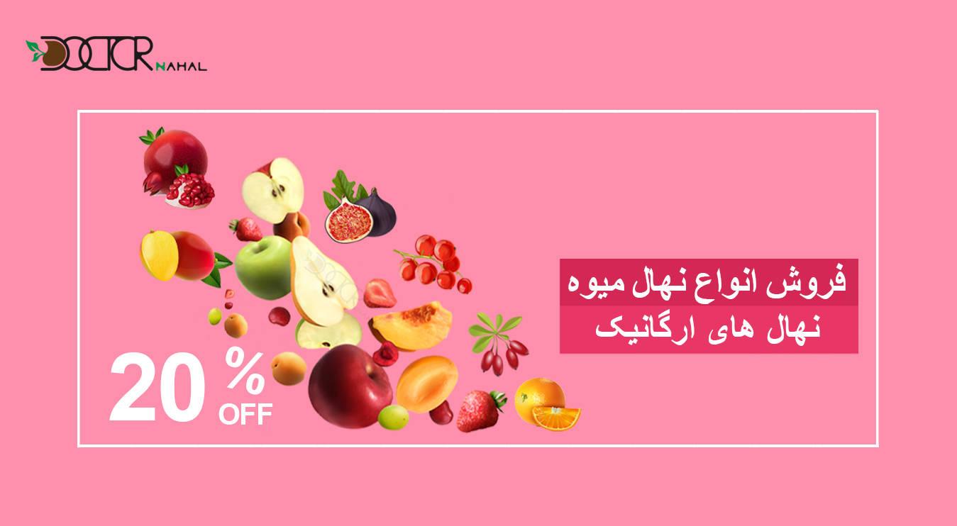 نهال میوه های ارگانیک